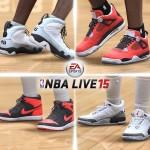 NBA Live 15: Air Jordan Shoes