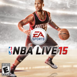 NBA Live 15: Cover featuring Damian Lillard