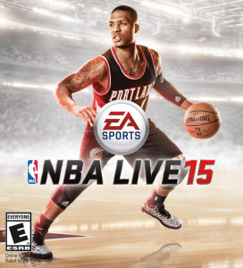 NBA Live 15: Cover featuring Damian Lillard