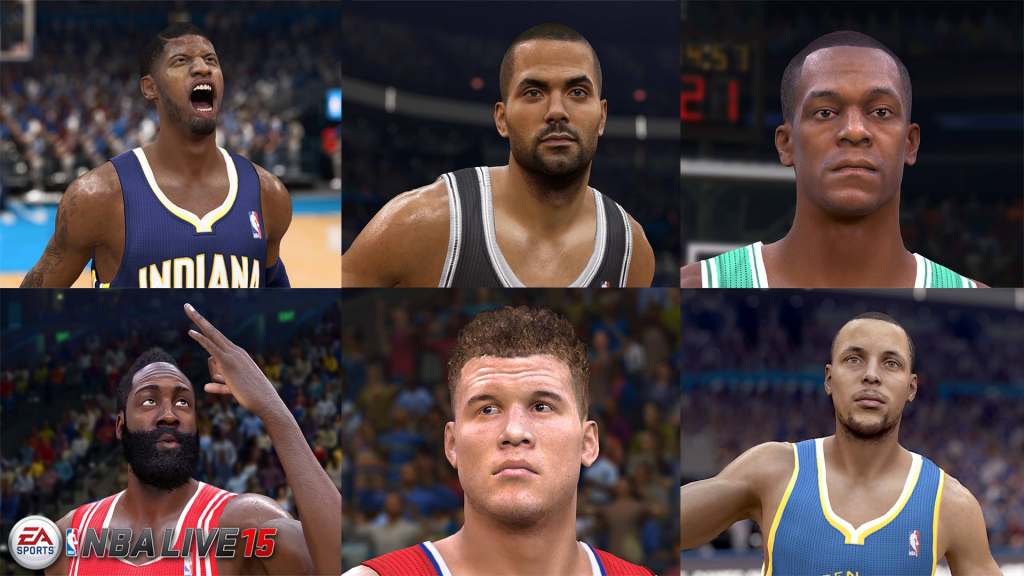 NBA Live 15: First Screenshot