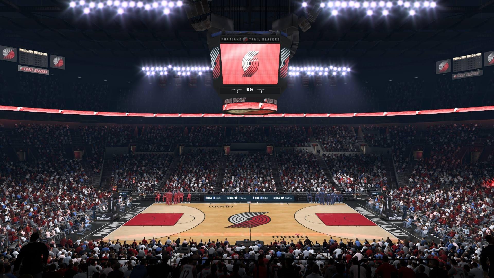 Victor Oladipo \u0026 The Moda Center in NBA Live 15