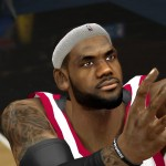 R4zoR's HD LeBron James face update for NBA 2K14 PC