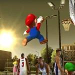 Mario in NBA Street V3