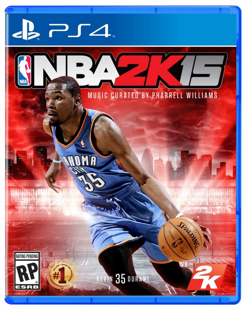 NBA 2K14 PlayStation 4 Pack Art