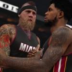 NBA 2K15: Chris Andersen & Udonis Haslem