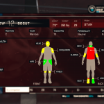 NBA 2K15: MyGM - Body Health