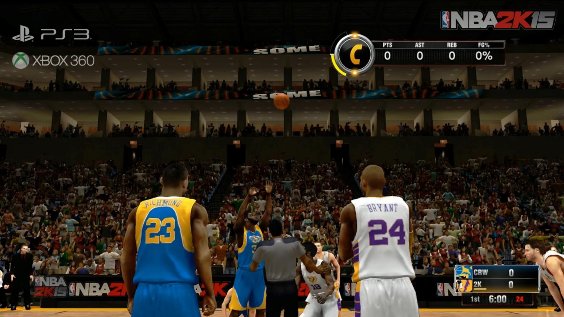 NBA 2K15 Crew Mode