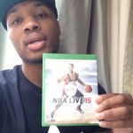 Damian Lillard NBA Live 15 Cover Announcement
