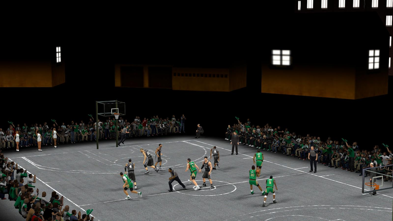 Midnight Ballers v2 Court Preview NBA 2K14 Street Mod
