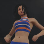 A mo-capped cheerleader in NBA 2K15