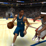 Gilbert Arenas in NBA Live 08 PC