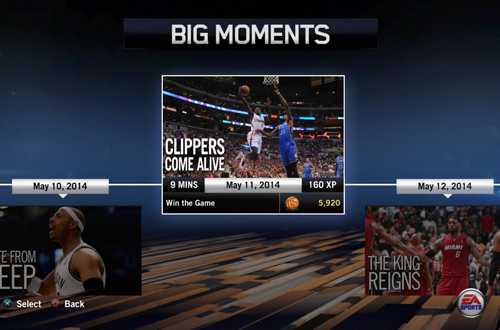 """Clippers Come Alive"" BIG Moment in NBA Live 14"
