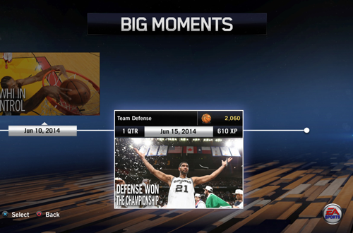 """Defense Won The Championship"" BIG Moment in NBA Live 14"