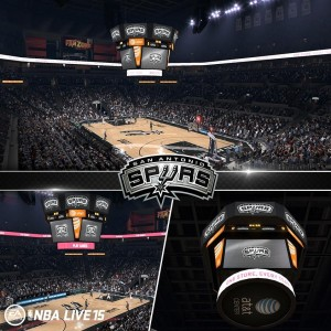 NBA Live 15: AT&T Center
