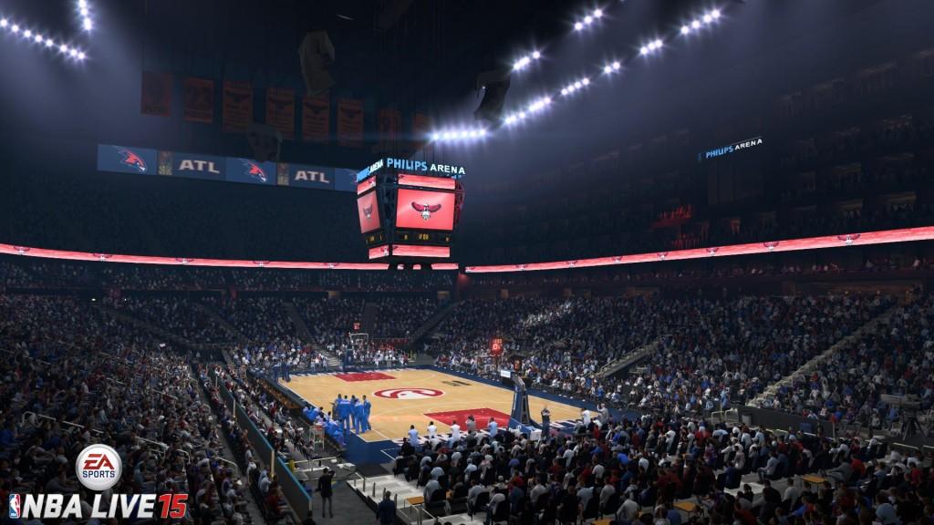 NBA Live 15: Philips Arena