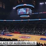 NBA Live 15: Detroit Pistons - The Palace of Auburn Hills
