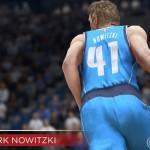 NBA Live 15: Dirk Nowitzki (87 Overall)
