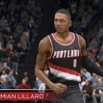 NBA Live 15: Damian Lillard (89 Overall)