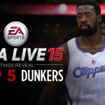 Top 5 Dunkers in NBA Live 15