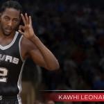 NBA Live 15: Kawhi Leonard (89 Overall)