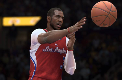 Chris Paul in NBA Live 15