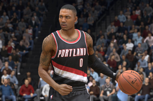Damian Lillard in NBA Live 15