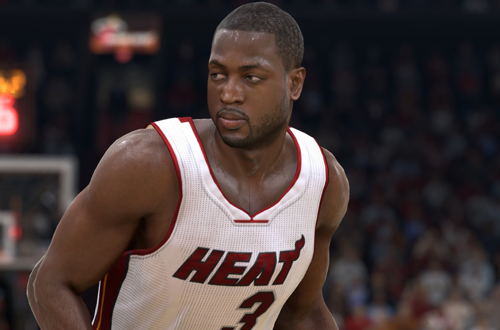 Dwyane Wade in NBA Live 15