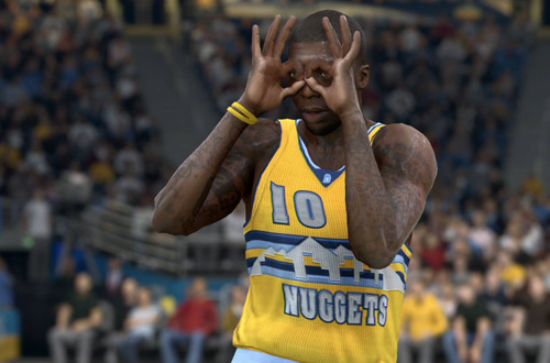 Nate Robinson in NBA Live 15