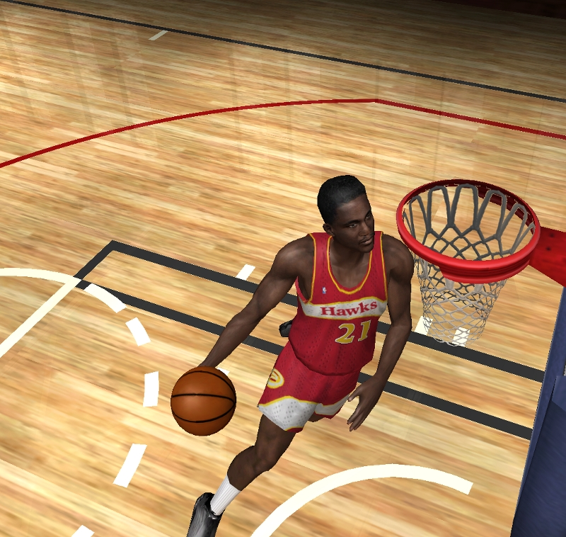 NBA Legends included in the NBA Live PC Project for NBA Live 06 PC