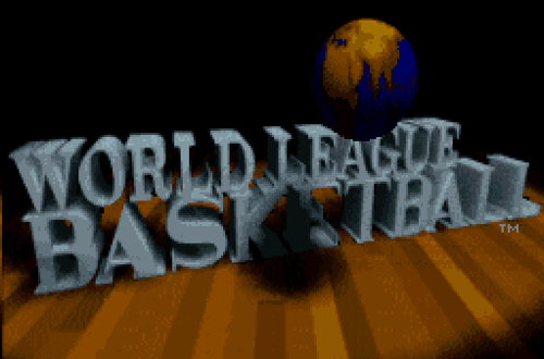 World League Basketball Title Screen