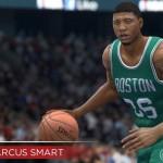 NBA Live 15: Marcus Smart (76 Overall)