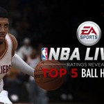 Top 5 Ballhandlers in NBA Live 15