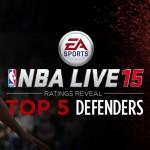 Top 5 Defenders in NBA Live 15