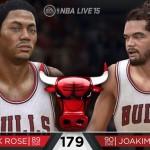 NBA Live 15: Derrick Rose & Joakim Noah