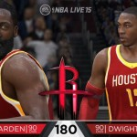 NBA Live 15: James Harden & Dwight Howard