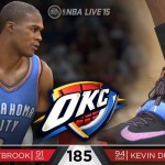 NBA Live 15: Kevin Durant & Russell Westbrook