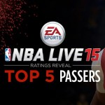 Top 5 Passers in NBA Live 15