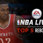 Top 5 Rebounders in NBA Live 15