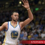 NBA Live 15: Stephen Curry (Shot Off Dribble: 95)
