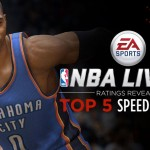 Top 5 Fastest Players in NBA Live 15