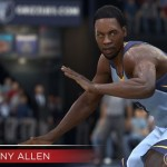 NBA Live 15: Tony Allen (Stealing: 95)