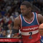 NBA Live 15: John Wall (Dribbling: 92)