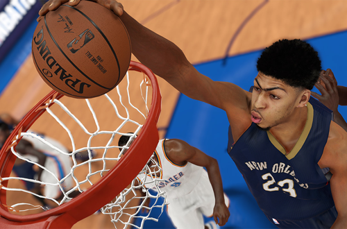 Anthony Davis in NBA 2K15