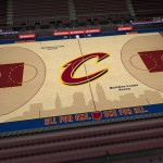 Cleveland Cavaliers' Updated Court in NBA 2K15