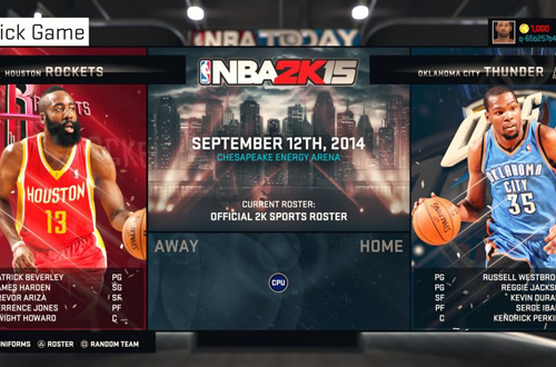 Quick Game in NBA 2K15