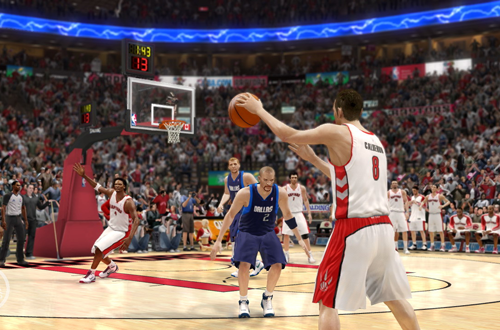 Jose Calderon in NBA Live 10