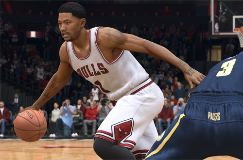 Derrick Rose in NBA Live 15