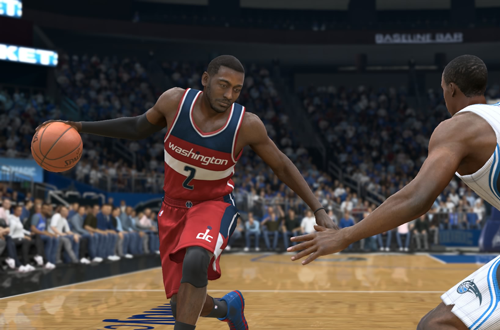 John Wall in NBA Live 15