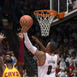 Damian Lillard vs. Kyrie Irving in NBA Live 15