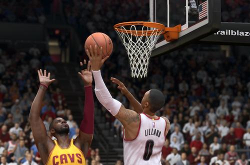 Damian Lillard vs. Kyrie Irving in NBA Live 15